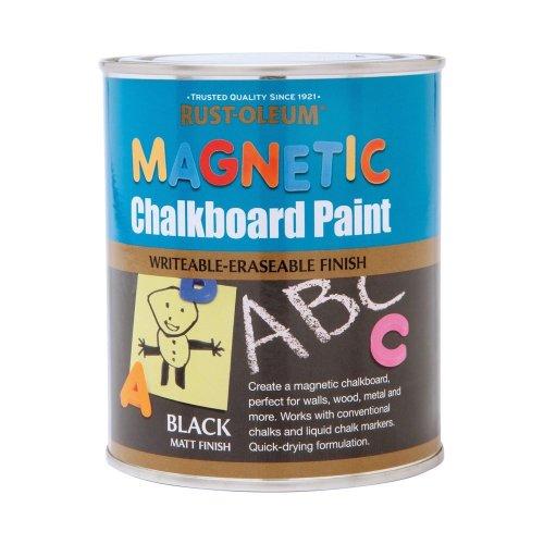 Rust-Oleum 750ml Magnetic Chalkboard Paint - Black