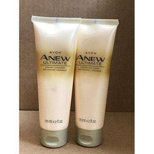 Avon Anew Ultimate Cream Cleanser 4.2 fl. oz. Lot 2 Pcs.