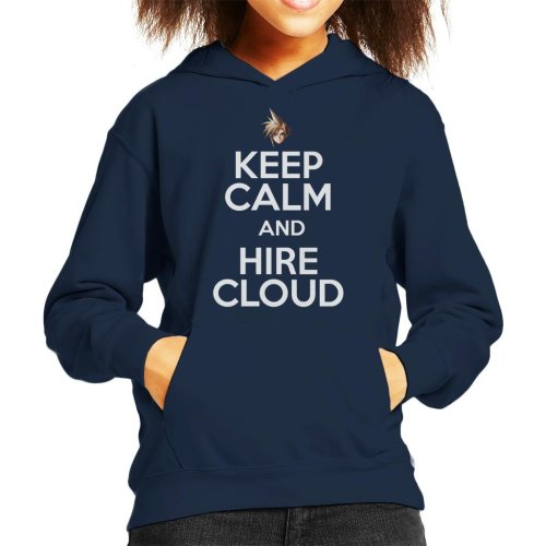 Keep Calm And Hire Cloud Kid's Hooded Sweatshirt
