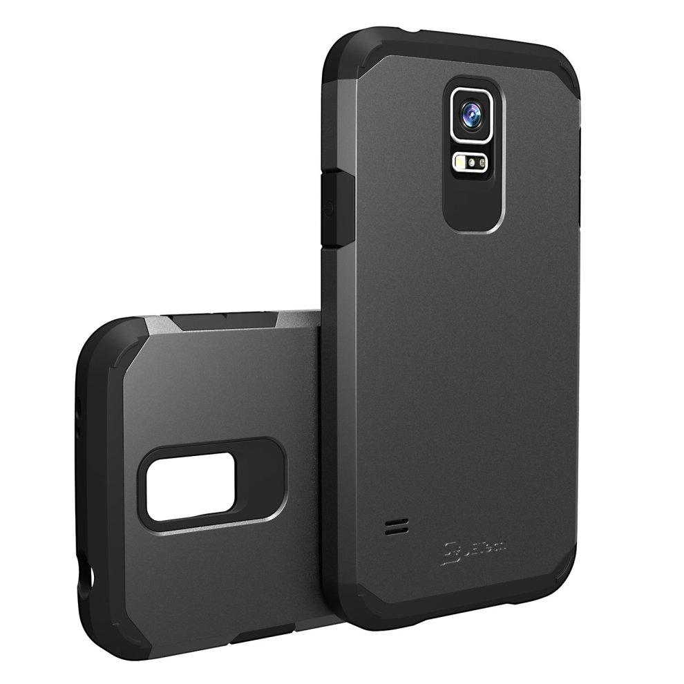 online store fbccb c71de JETech 3010 Case for Samsung Galaxy S5, Protective Cover, Black