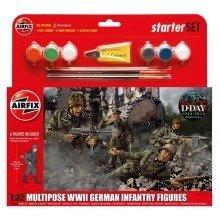 Air55210 - Airfix Multipurpose Set 1:32 - Wwii German Infantry