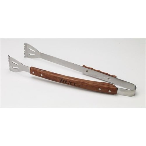 Bull Outdoor Products 24102 Vineyard Rosewood Handle Tongs