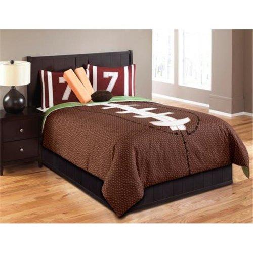Hallmart Kids 43667 Touchdown 5 Piece Twin Comforter Set - No Skirt Included
