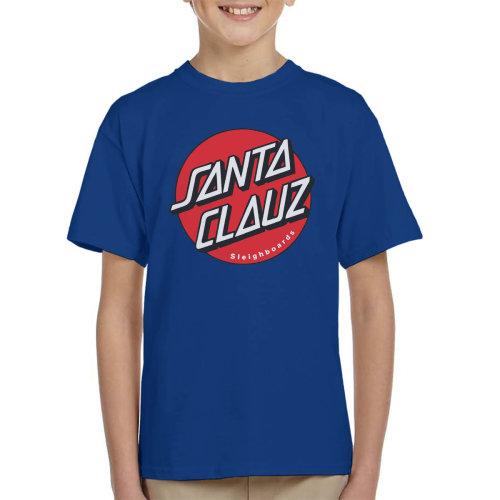 Santaclauzs Santa Cruz Kid's T-Shirt