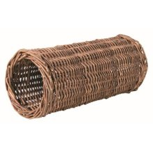 Trixie Wicker Tunnel For Guinea Pigs, 33 x 15cm - Pigs 15cm -  wicker guinea pigs trixie tunnel 33 15 cm