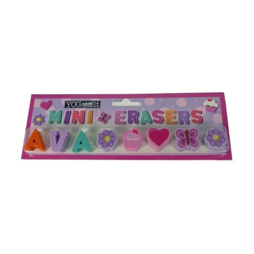 Childrens Mini Erasers - Ava