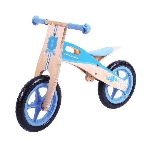 Bigjigs Toys My First Balance Bike (Blue)