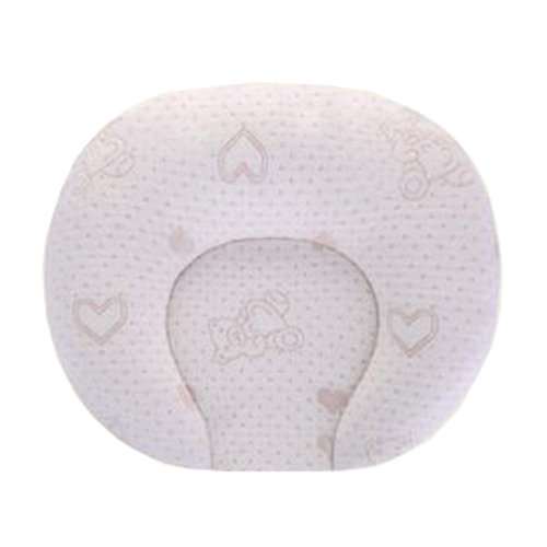Breathable Soft Small Pillow Latex Prevent Flat Head Pillows For 0-1 Years,  NO.3