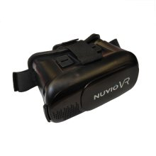 """Nuvio 3D VR Headset Glasses Virtual Reality Boxes with Adjustable Strap and Lens for 3D Movies and Games - 4.0-6.5"""""""
