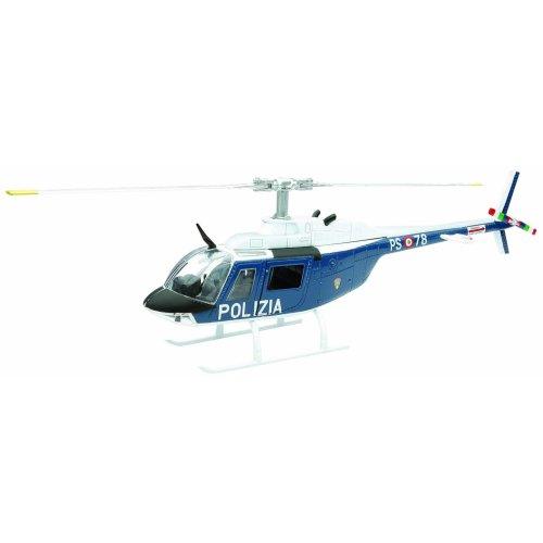 NEWRAY 25743–Sky Pilot Agusta Bell AB 206Police, 1: 34SCALE–Die Cast