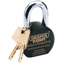 Draper Tools Expert Padlock with 2 Keys Stainless Steel 63 mm 64206