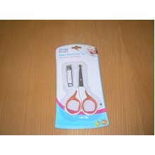 First Steps Manicure Set -  baby manicure set nail scissors clippers first steps