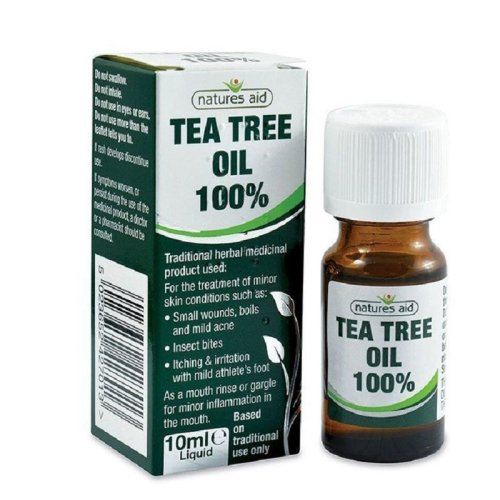 Natures Aid Tea Tree Oil 100% 10ml Liquid