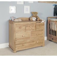 Amelia Oak Changer / Chest of Drawers