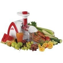 Team Visicook Vitameister Easyclean Slow Juicer with Vegetable Processor Accessory, 150 W, White