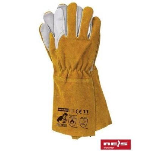 REIS - WORK - PROTECTIVE GLOVES Kevlar - YELLOWBEE - welding gloves TIG