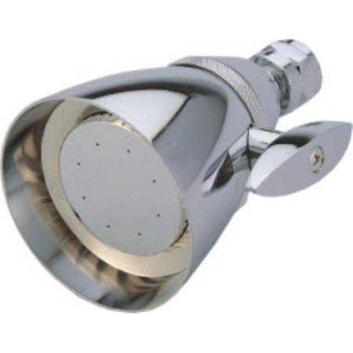 Kingston Brass CK132A1 Kingston Brass CK132A1 2-.25 in. Diameter Adjustable Brass Shower Head  Chrome