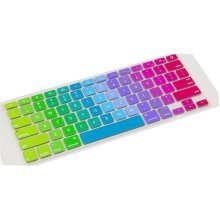 Macbook Keyboard Decal Macbook Keyboard Stickers Skin Logos Cover Rainbow