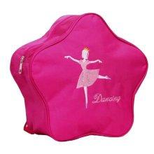 Kids Dance Bags School Bags Travel Backpack Girls Dancing Backpacks Bag Rose Red