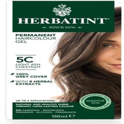 Herbatint Light Ash Chestnut Hair Colour 5c 150ml