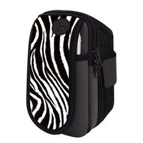 Black Arm Band Sports Equipment Armband with Key Holder Arm Package For Running