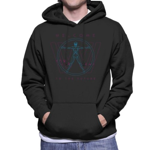 Westworld Welcome To The Future Men's Hooded Sweatshirt