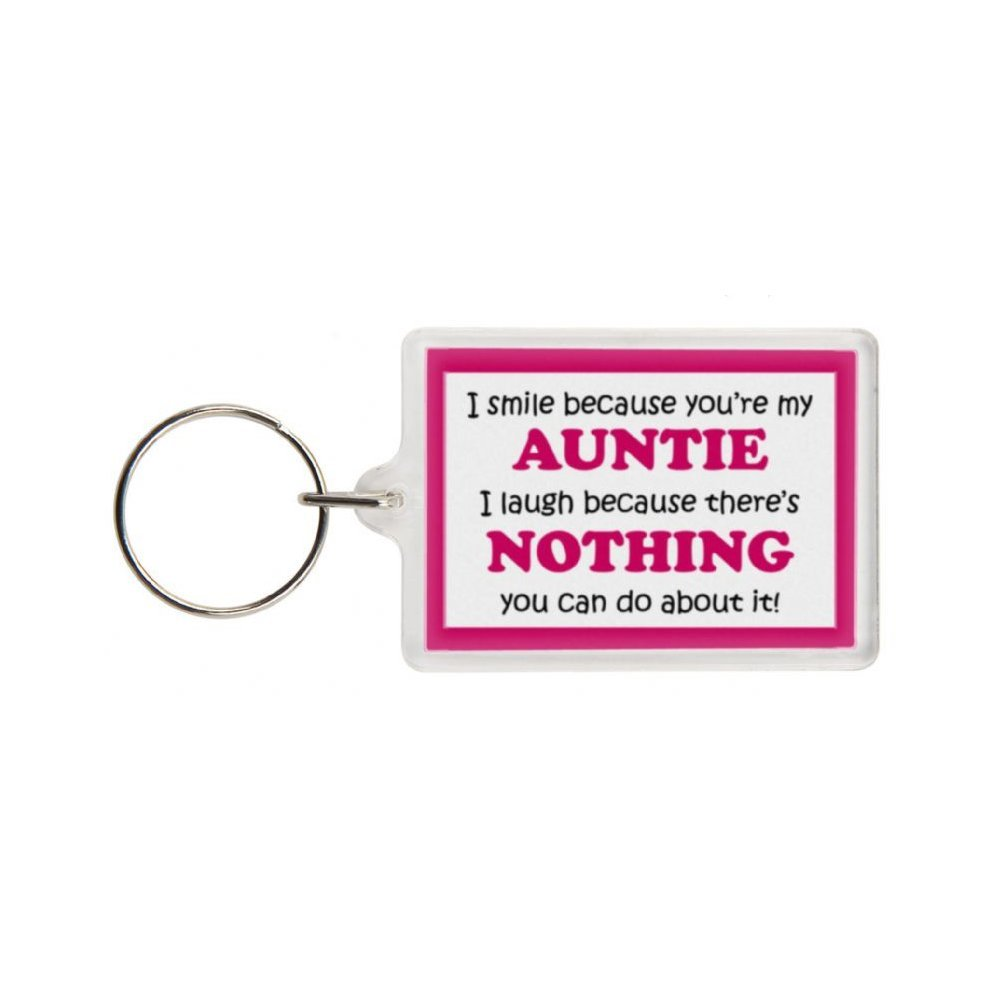 Funny Auntie Gift Keyring - Excellent stocking filler 30d674e9ca8b