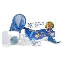 Life Spa & Hot Tub Accessories Maintenance Kit - Includes Net & Scum Sponge
