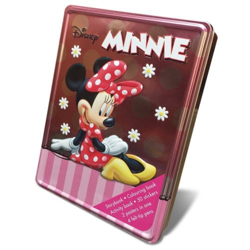 Disney Minnie Mouse Happy Tin (Disney Happy Tin Minnie)