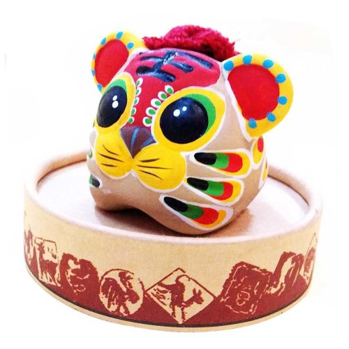 Characteristic Toy Clay Figurines Clay Sculpture Zodiac Ornaments  Chinese