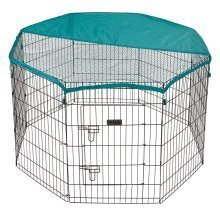 Bunty Pet Pen Large Heavy Duty Dog Run Puppy Play Whelping Cage Metal Enclosure