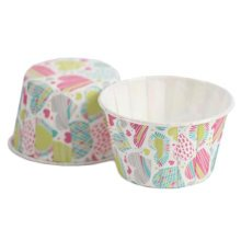 100PCS Lovely Baking Paper Cups Cupcake Carrier Cup Cupcakes Cases, No.9
