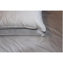 Hungarian Goose Feather & Down Pillows - 2 Pack