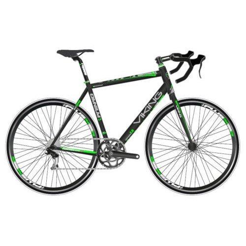 Viking Omnium 1.0 Gents 700C 14 Speed Road Racing Bike Bicycle 53cm Black