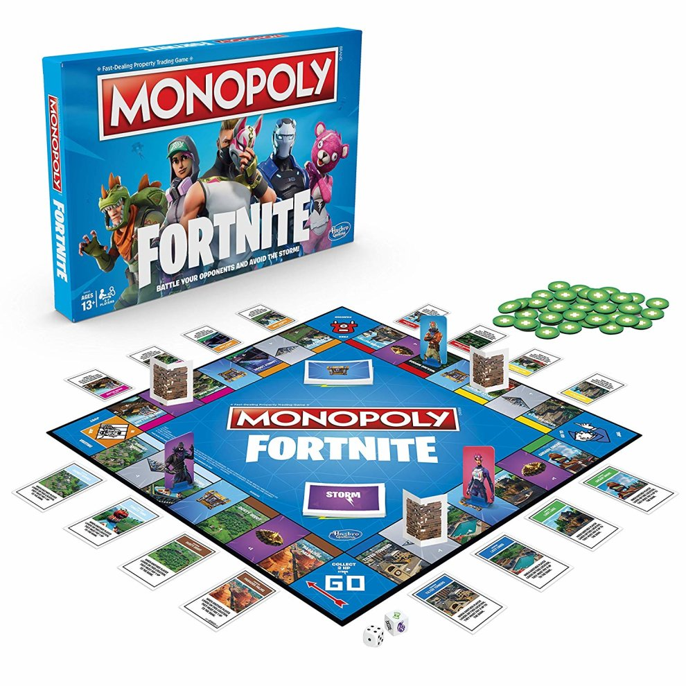 monopoly fortnite edition board game monopoly fortnite edition board game 1 - destroy 2 industrial power transformers fortnite