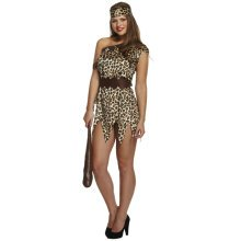 Cavewoman Fancy Dress Costume