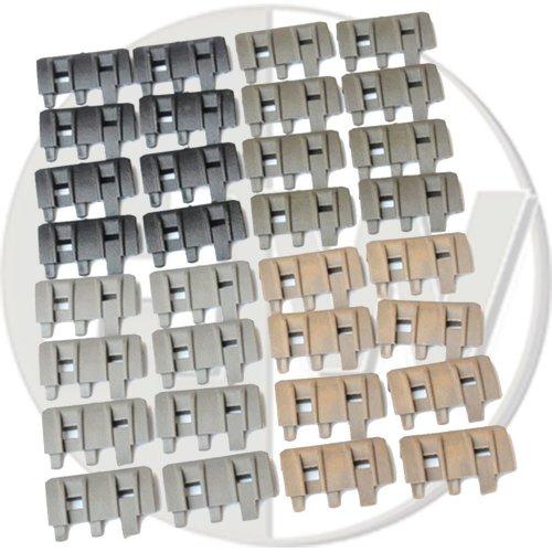 Airsoft Rail Panels Covers Acm Ftm Black Tan Green X 32 Ris Xtm De