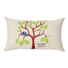Simple Practical Office Rectangle Pillow Beautiful Lumbar Pillow, A1