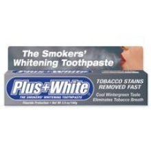 CCA Industries Plus+White Smokers Peppermint Toothpaste, 3.5 Ounce