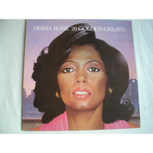 DIANA ROSS - 20 Golden Greats UK LP 1979 ex/ex