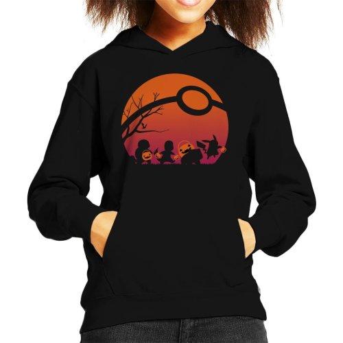 Trick Or Treat Pokemon Kid's Hooded Sweatshirt