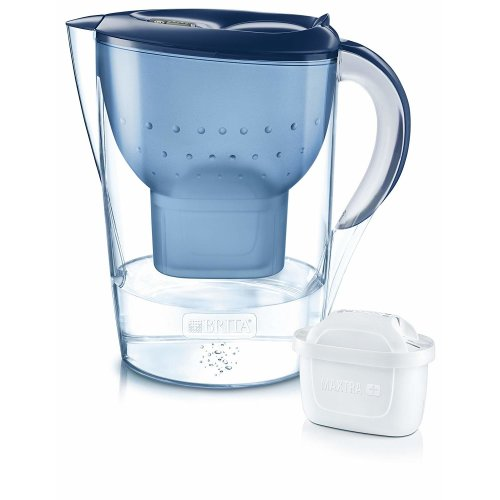 BRITA Blue Marella XL Water Jug & MAXTRA+ Filter