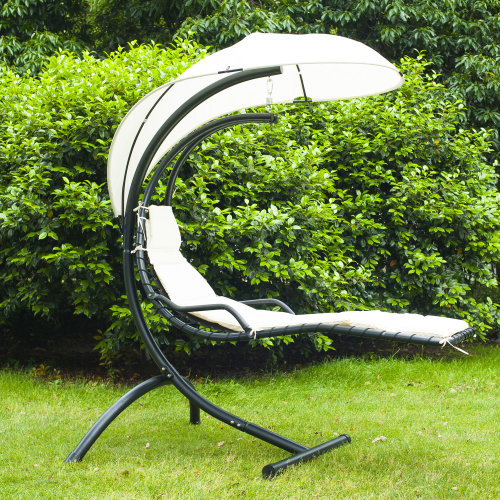 Outsunny | Cushioned Helicopter Swing Seat