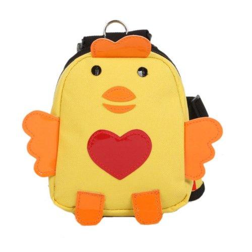 Cartoon Dog Pet Dog Outside Travel Backpack Shoulders Backpack---Chicken