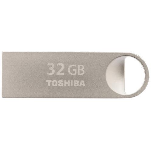 Toshiba TransMemory Mini-Metal 32GB 32GB USB 2.0 Silver USB flash drive