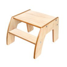 Little Helper FunStep Childrens Kids Step Stool (Natural) EX DISPLAY
