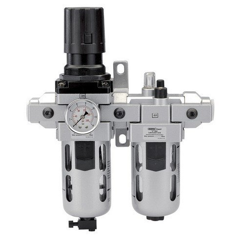 "Draper 24333 1/2"" BSP Combined Filter/Regulator/Lubricator"