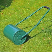 Outsunny Green Lawn Roller 30L | Metal Garden Roller