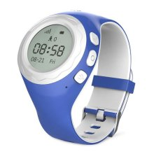 WATCHU for Kids Phone Smart Watch with GPS Tracker - Check Your Child's Whereabouts - Don't Get Lost - SOS Button with Voice Chat - Call Them from Your Mobile - UK App