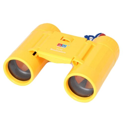 Kids Toy Binoculars Kids Telescope Science Explore Educational Toys, Yellow